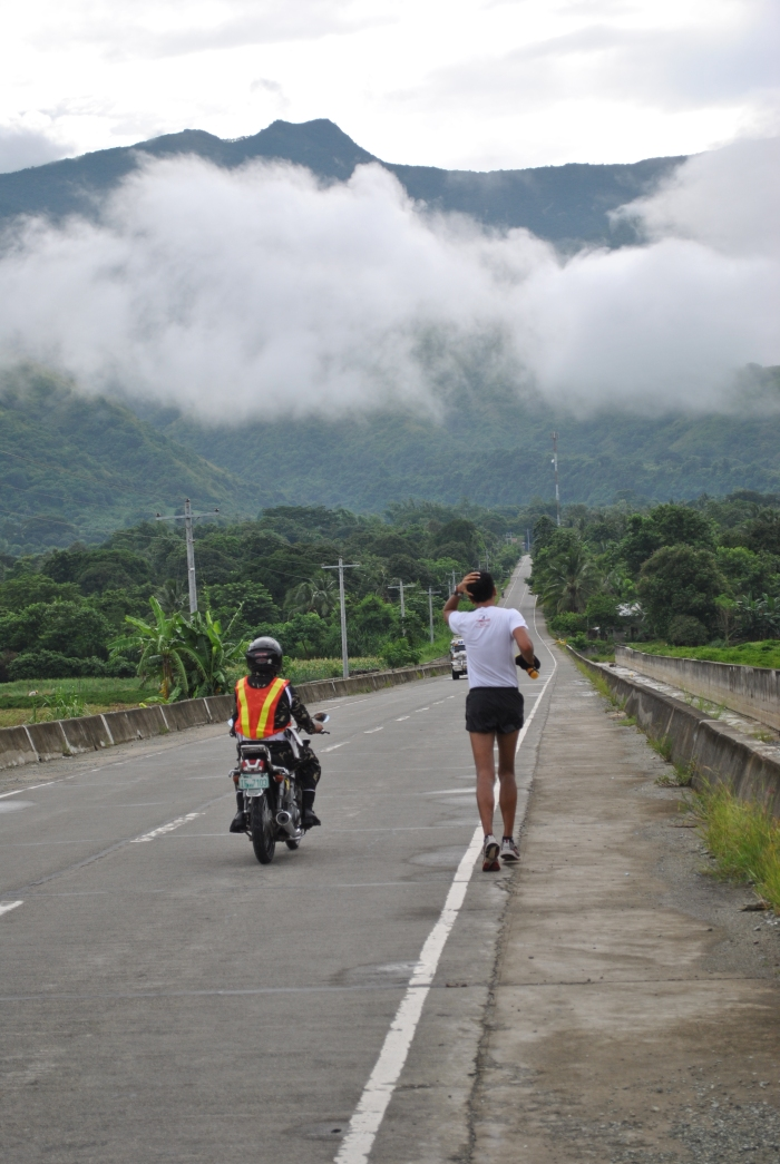 Alfred Delos Reyes Leading The Race