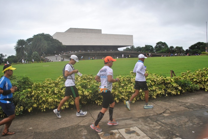 In Front of the Cultural Center Of The Philippines (CCP)