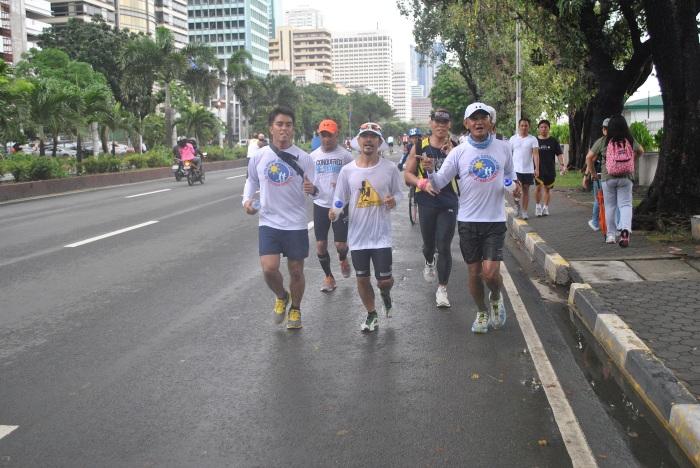 Ultra Runner In Action