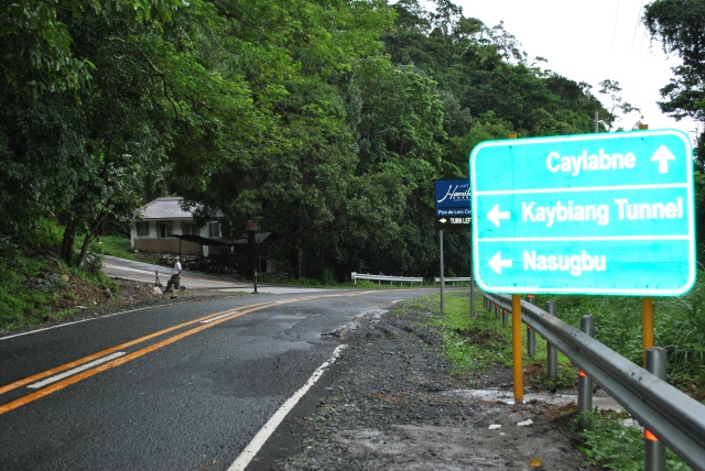Junction Going To Kaybiang Tunnel/Nasugbu