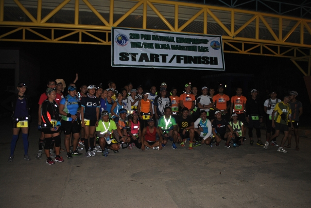Starting Area & Runners