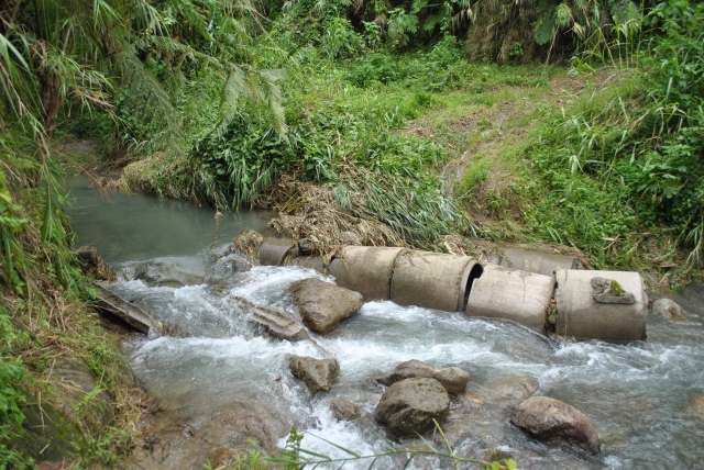 Slippery Part To & From Miyamit Falls