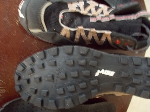 Sole & Tread Of INOV8 Mudroc 290