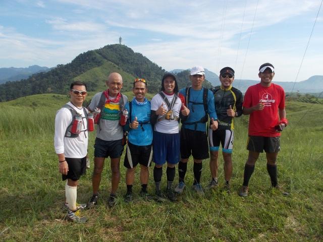 Seven Runners @ The First Antenna