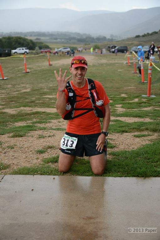 Andre @ The Finish Line Of Wasatch 100