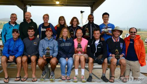 Group Picture of the 2013 Grand Slammers of Ultrarunning
