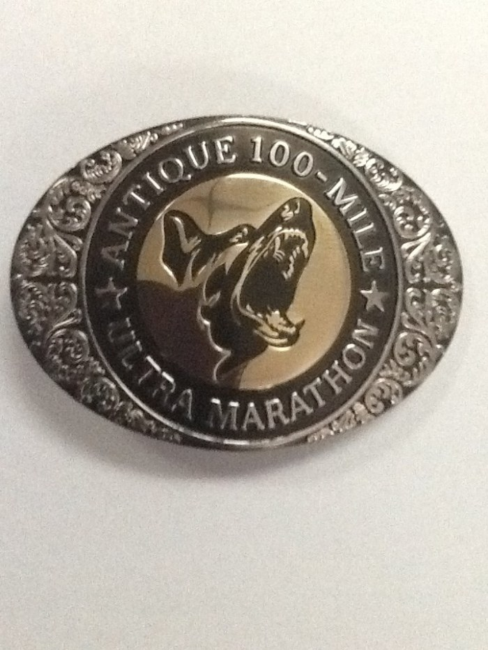 ANTIQUE 100-Mile Finisher's Buckle
