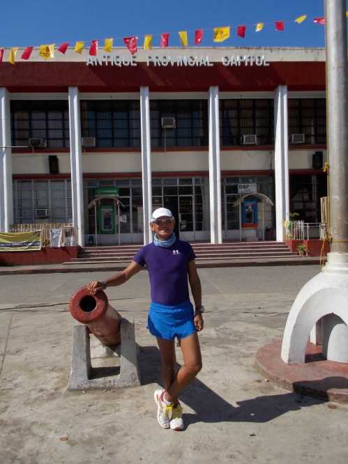 Before The Run In Front Of Antique Provincial Capitol
