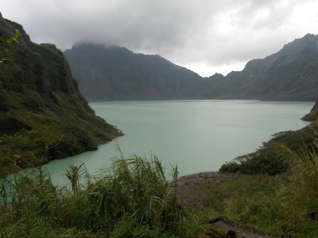 Mt Pinatubo's Peak & Crater Lake