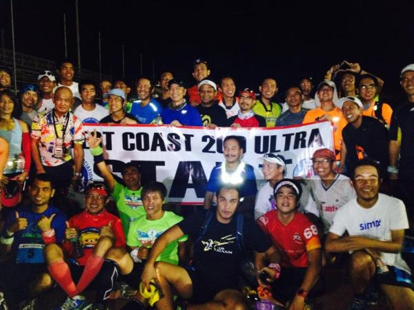WEST COAST 200K Runners (Photo By Elaine Botabara)