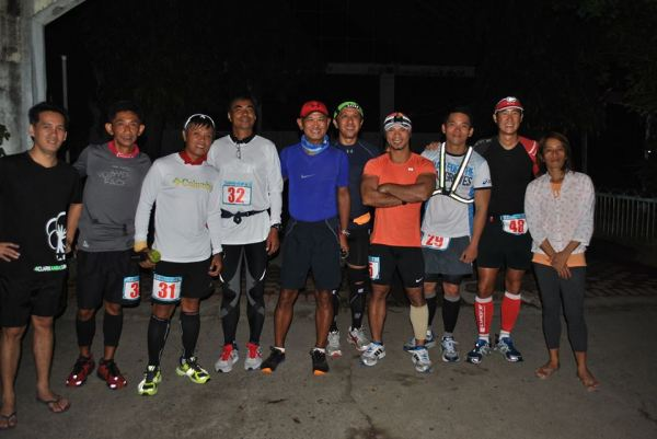Runners Before The Start Of The 2nd Stage In Botolan, Zambales