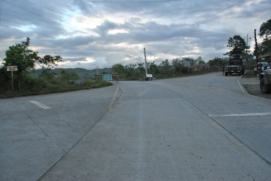 TURN RIGHT Towards Barangay Dona Josefa