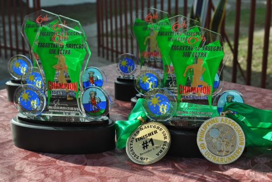 Trophies & Finisher's Medals
