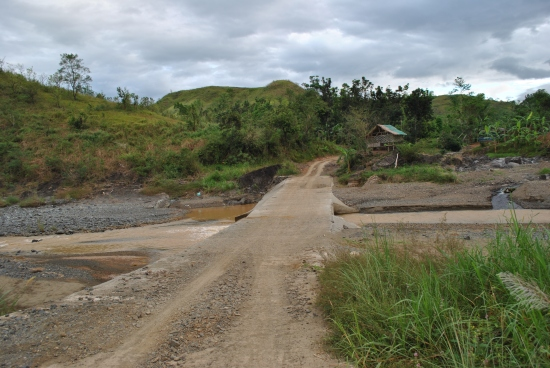First Spillway Before Barangay Langka Welcome Arc