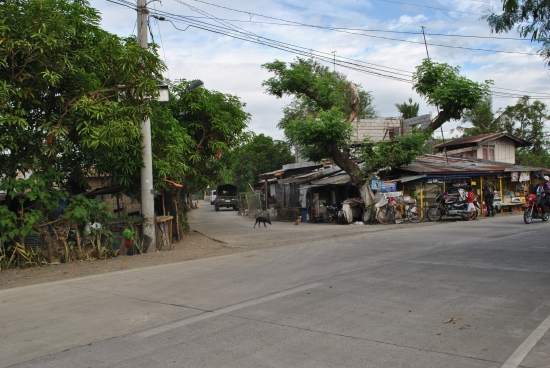 TURN LEFT On This Road Towards Barangays San Mariano, Purok #9, Barangay Militar