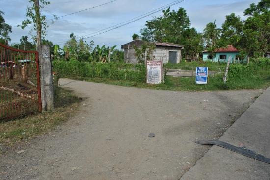 TURN LEFT To Barangay Mariano/Purok #9/Barangay Militar