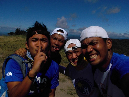 "Group ""Selfie"" At The Peak Of Mt Balagbag"