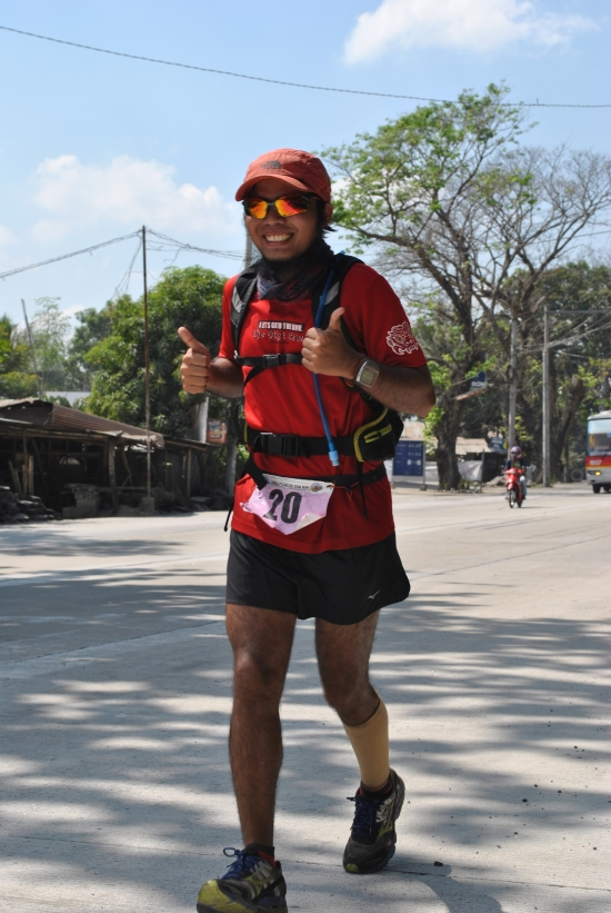 Self-Support Runner Rhodz Cordora From Zamboanga City