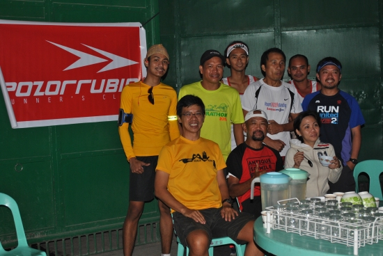 Dennis Uy (Yellow Shirt) With The Pozurrubio Running Club