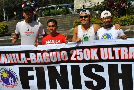 Podium Finishers (Left To Right: Alfred Delos reyes; Jaylord Ballao; Jael Wenceslao; RD)