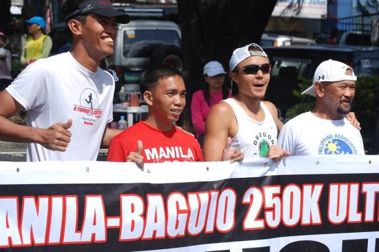 Podium Finishers (Left To Right: Alfred Delos Reyes, Jaylord Ballao, Jael Wenceslao)