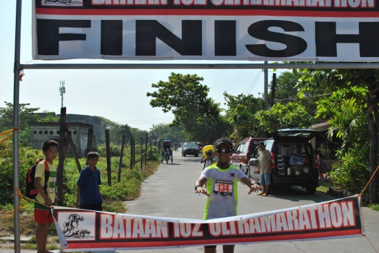 Arvin Galos, 3rd Overall Finisher