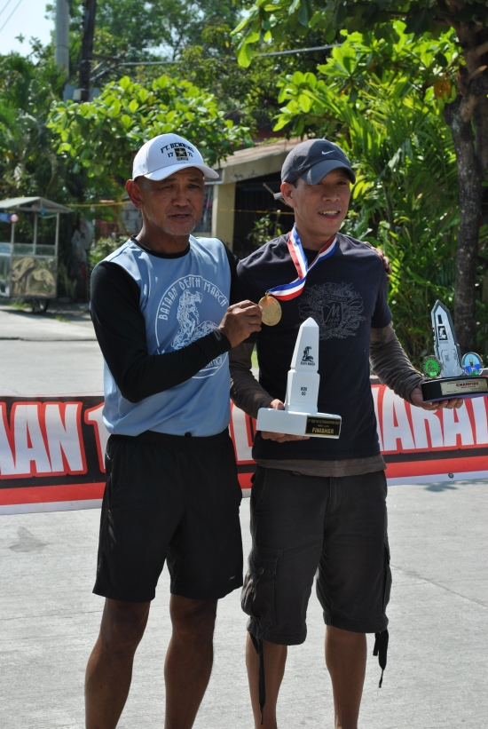 Eric Cruz, Champion Of 2014 BDM 102 Ultra Marathon Race