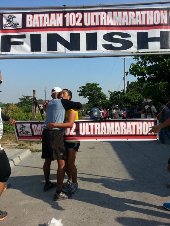 Victory @ The 2014 BDM 102K Ultra Marathon Race (Juvy)