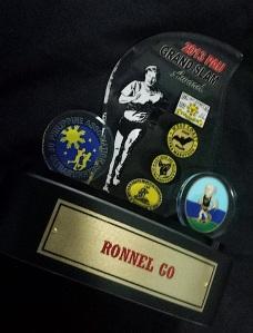 PAU Grand Slam Award/Trophy (Courtesy of Ronnel Go)