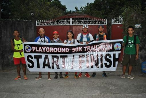Playground BRAVO 50K Trail Run Participants