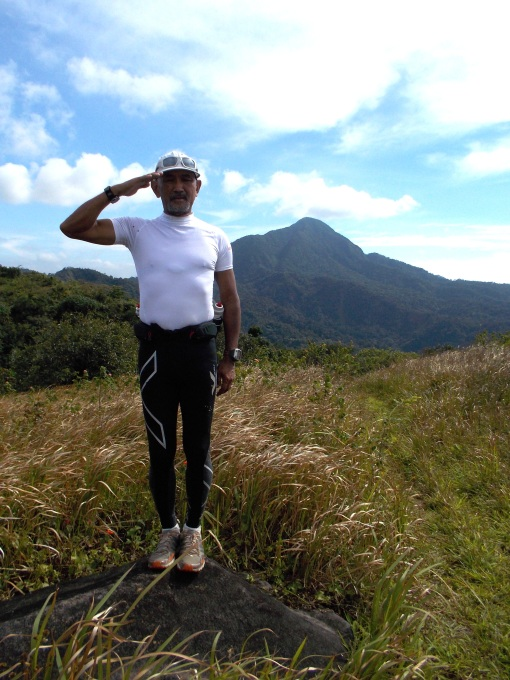 My Snappy Salute To All Mountain Trail Runners!