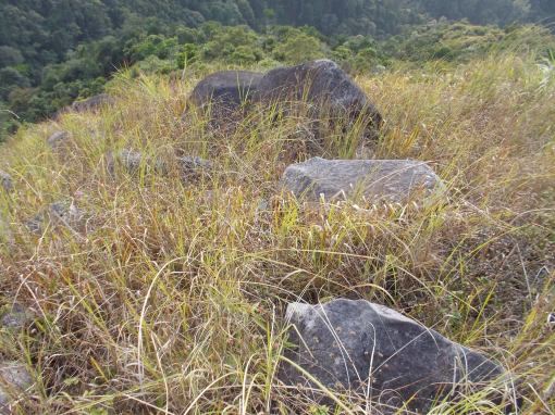 Rocks At The Peak Of Mt Kalbo