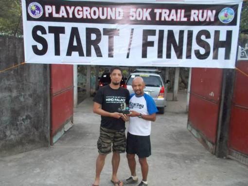 2nd Playground Alpha 50K Trail Run Champion: Jon Borbon