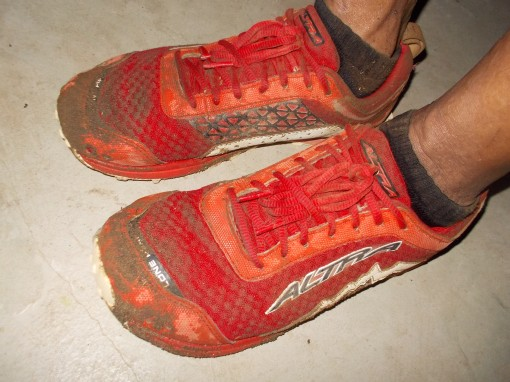 Wet Shoes After Workout!