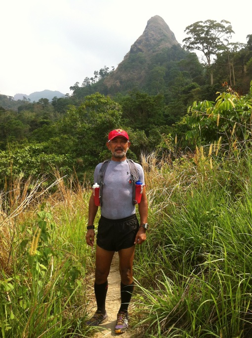 Bald Runner @ Mt Susongdalaga (Playground Charlie)