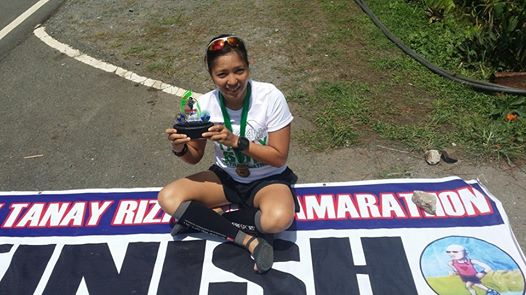 Female Overall Champion Tess Leono