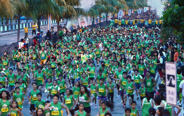 Yearly MILO Marathon