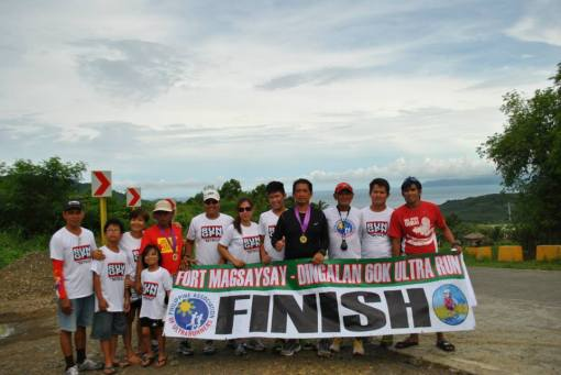 Finisher/s and their Support Crew/Team
