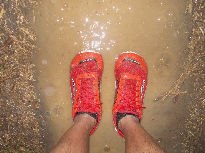 Wet & Soaked ALTRA Lone Peak 1.5
