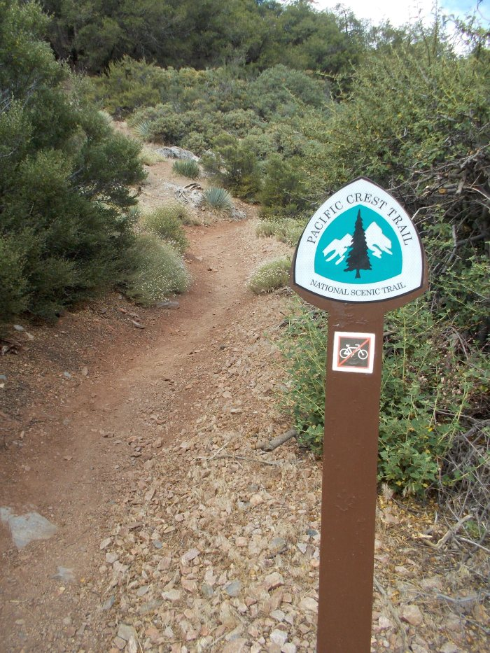 One Of The Trail Markings @ PCT