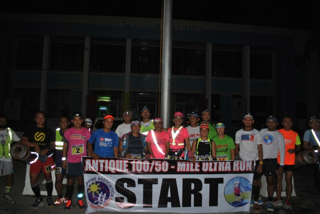 19 Starters In Front of the Antique Provincial Capitol