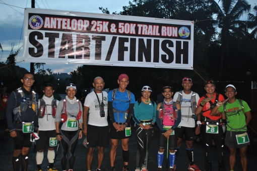 Starters With The RD For The 2nd Anteloop Bravo 50K Trail Run