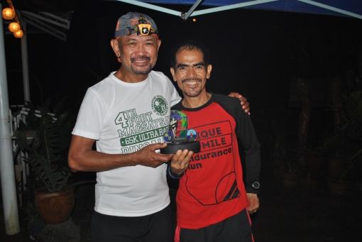 Overall Champion Graciano Sindac Santos