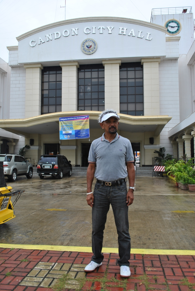 In Front Of The Candon City Hall