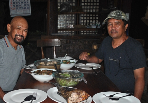 My Host, The Former Municipal Mayor Of Salcedo, Ilocos Sur