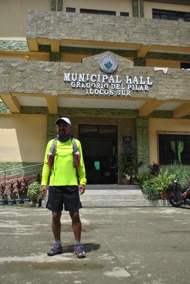 In Front Of The New Municipal Hall of Gregorio Del Pilar, Ilocos Sur