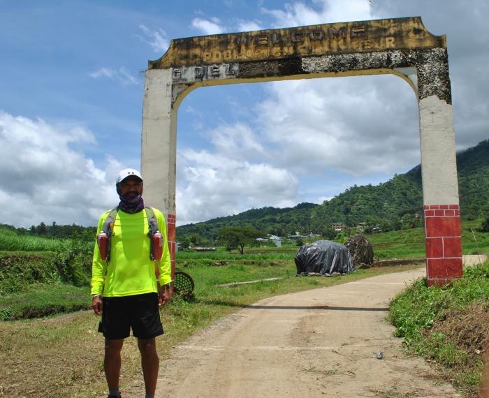 WELCOME Arch @ Gregorio Del Pilar's Poblacion