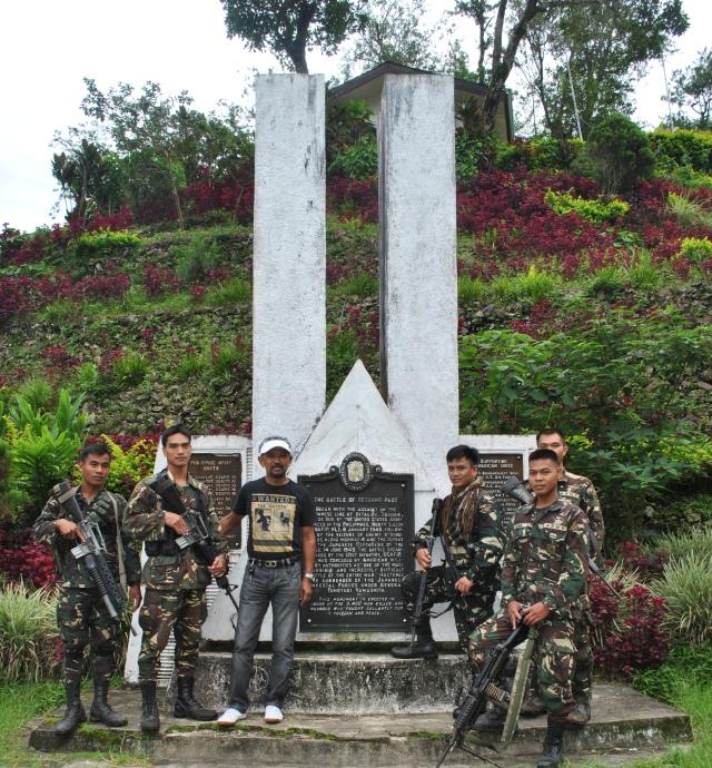 The Battle Of Bessang Pass Shrine