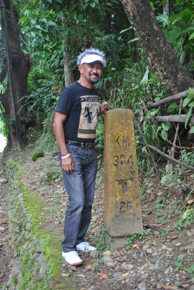 Kilometer Post Towards Quirino (One Km From Poblacion Cervantes)