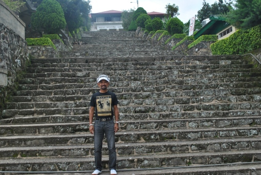 Stairs Towards Tadian Municipal Hall